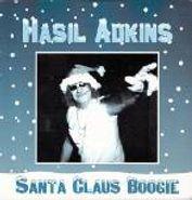 """Hasil Adkins, Santa Claus Boogie/Blue Christ (7"""")"""