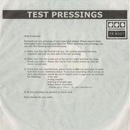 "Demdike Stare, Testpressing #007 (12"")"