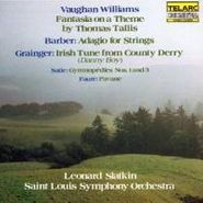 Ralph Vaughan Williams, Vaughan Williams / Barber / Grainger: Fantasia on a Theme by Thomas Tallis / Adagio for Strings / Irish Tune from County Derry (CD)