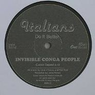 """Invisible Conga People, Cable Dazed/Weird Pains (12"""")"""