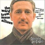 Mose Allison, Word From Mose (CD)