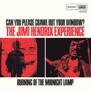 "The Jimi Hendrix Experience, Can You Please Crawl Out Your Window? / Burning of the Midnight Lamp (7"")"