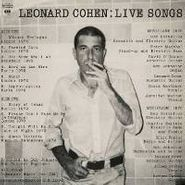 Leonard Cohen, Live Songs (LP)