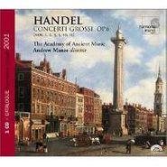 George Frideric Handel, Handel:Concerti Grossi Op.6 *cd+catal (CD)
