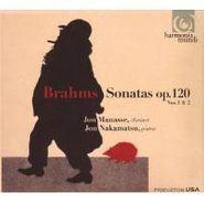 Johannes Brahms, Brahms:Clarinet Sonatas Op.120 (CD)