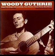 Woody Guthrie, Woody Guthrie Sings Folk Songs (CD)