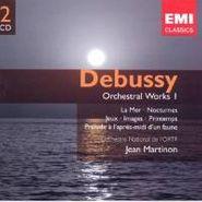 Claude Debussy, Debussy: Orchestral Works Vol. I - La Mer / Nocturnes / Jeux / Printemps / Prélude à l'après-midi d'un faune (CD)