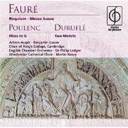 Gabriel Fauré, Faure: Requiem / Messe Basse / Poulenc: Mass In G / Durufle: Two Motets (CD)