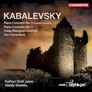 Dmitry Kabalevsky, Kabalevsky: Piano Concertos Nos. 2 (Revised) & 3 / Colas Breugnon Overture (CD)