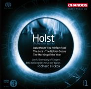 Gustav Holst, Holst: Orchestral Works, Vol. 1 - Ballet from 'The Perfect Fool' / The Golden Goose / The Lure / The Morning of the Year [Hybrid SACD] (CD)