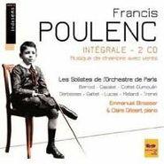 Francis Poulenc, Francis Poulenc: Intègrale - 2 CD Musique de Chambre Avec Vents (CD)