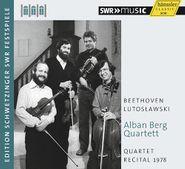 Ludwig van Beethoven, Quartet Recital 1978 (CD)