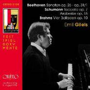 Ludwig van Beethoven, Sonaten Op.26 & Op 31/1 / Toccata Op. 7 / Arabeske Op. 18 / Vier Balladen Op.10 (CD)
