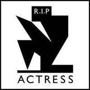 Actress, R.I.P. (CD)