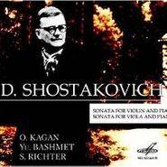 Dmitry Shostakovich, Sonata For Violin / Sonata For Viola (CD)
