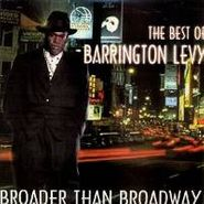 Barrington Levy, Broader Than Broadway-The Best Of Barrington Levy(LP)