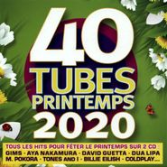 , 40 Tubes Printemps 2020 / Various (CD)