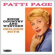 Patti Page, Sings Country & Western Golden (CD)