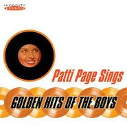 Patti Page, Sings Golden Hits Of The Boys (CD)
