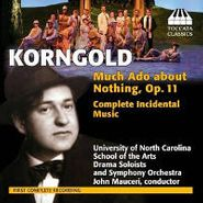 Erich Wolfgang Korngold, Much Ado About Nothing Op. 11 (CD)