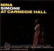 Nina Simone, At Carnegie Hall (LP) [180 Gram Vinyl]
