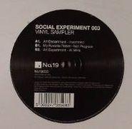 "Art Department, Social Experiment 003 Sampler (12"")"