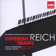 Steve Reich, Different Trains Piano Counter (CD)