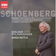 Johannes Brahms, Brahms / Schoenberg: Piano Quartet No.1 (Orchestrated) / Accompanying Music To A Film Scene / Chamber Symphony No. 1 (Full Orchestra Version) (CD)