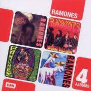 Ramones, 4 cd Boxset: 4 Albums: Brain Drain / Mondo Bizarro / Acid Eaters / Adios Amigos (CD)