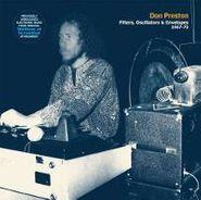 Don Preston, Filters Oscillators & Envelope (CD)