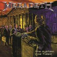 Megadeth, The System Has Failed [180 Gram Vinyl] (LP)