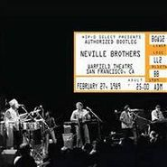 The Neville Brothers, Authorized Bootleg Warfield Theatre San Francisco [Live] (CD)