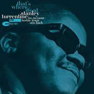 Stanley Turrentine, That's Where It's At [2014 Issue] (LP)