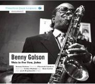 Benny Golson, This Is For You John (CD)