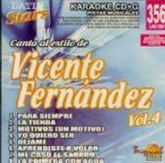 Vicente Fernández, Vol. 4-Multi Karaoke (CD)