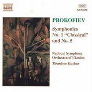 """Sergei Prokofiev, Prokofiev: Symphonies 1 """"Classical"""" & 5 (CD)"""
