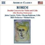 Ned Rorem, Rorem: Double Concerto for Violin & Cello / After Reading Shakespeare (CD)