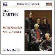Elliott Carter, Carter: String Quartets 2-4 (CD)