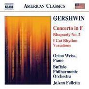 George Gershwin, Gershwin: Concerto In F / Rhapsody No. 2 / I Got Rhythm Variations (CD)