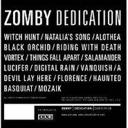 Zomby, Dedication (LP)