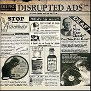 Oh No, Disrupted Ads (LP)