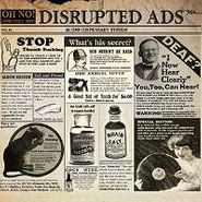 Oh No, Disrupted Ads (CD)