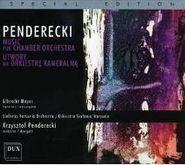 Krzysztof Penderecki, Penderecki:Music For Chamber Orchestra (CD)