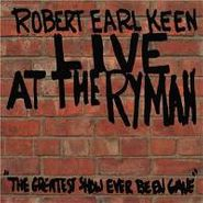 Robert Earl Keen, Live At The Ryman (CD)