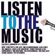 Various Artists, Listen To The Music: Caltone's Jamaican 45's (1966-69) (LP)