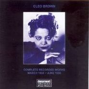 Cleo Brown, Complete Recorded Works Marc (CD)