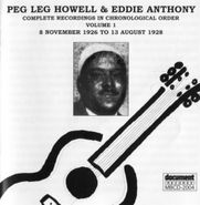 Peg Leg Howell, Vol. 1- 1926-28 (CD)