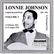 Lonnie Johnson, Complete Recorded Works, Vol. 7: 11 February 1931 to 12 August 1932 (CD)