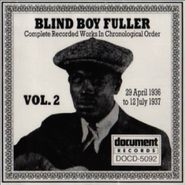 Blind Boy Fuller, Complete Recorded Works, Vol. 2 (1936-1937)