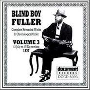 Blind Boy Fuller, Complete Recorded Works, Vol. 3 (1937)